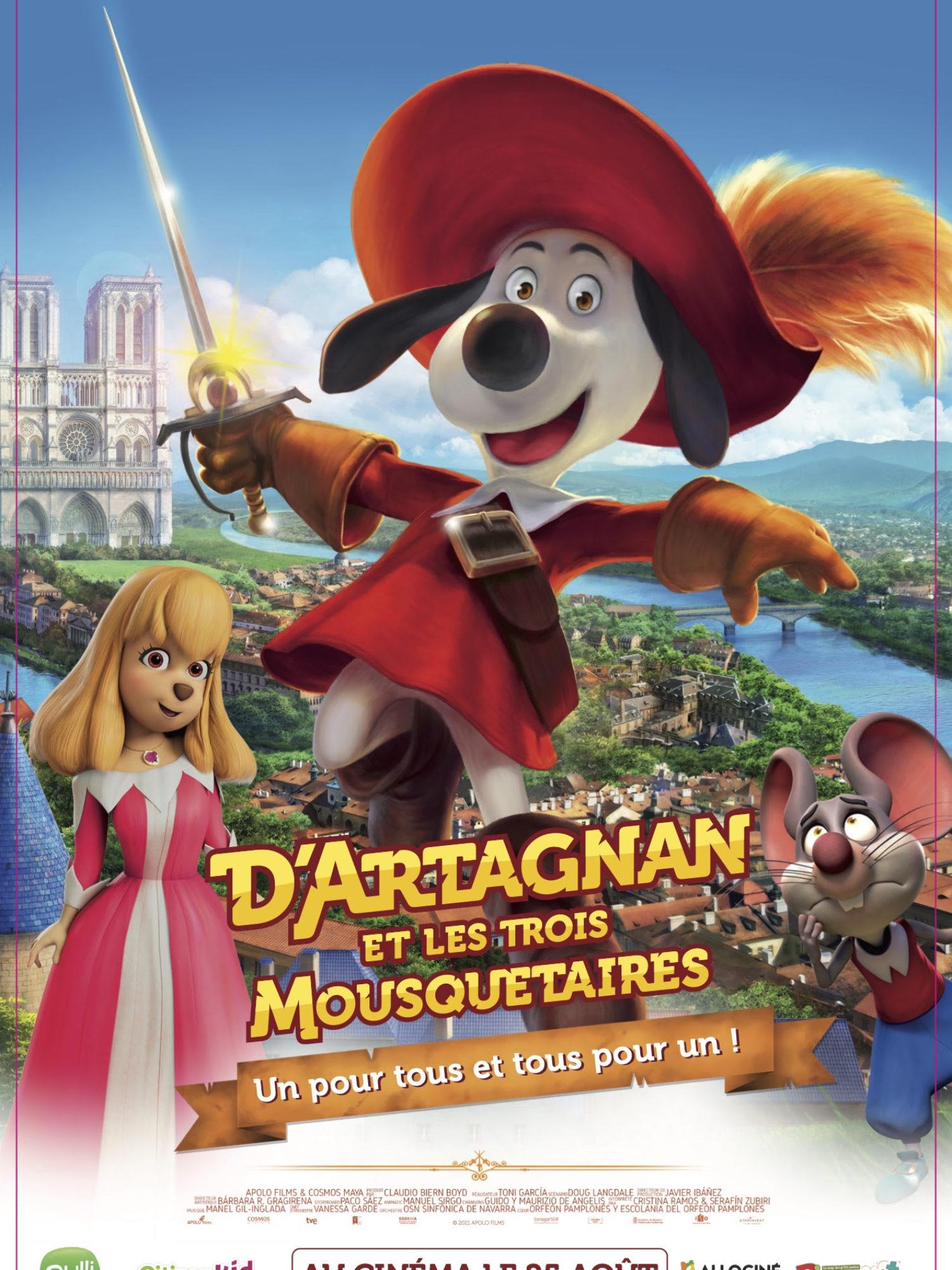 Kids Corner: D'Artagnan et Les Trois Mousquetaires