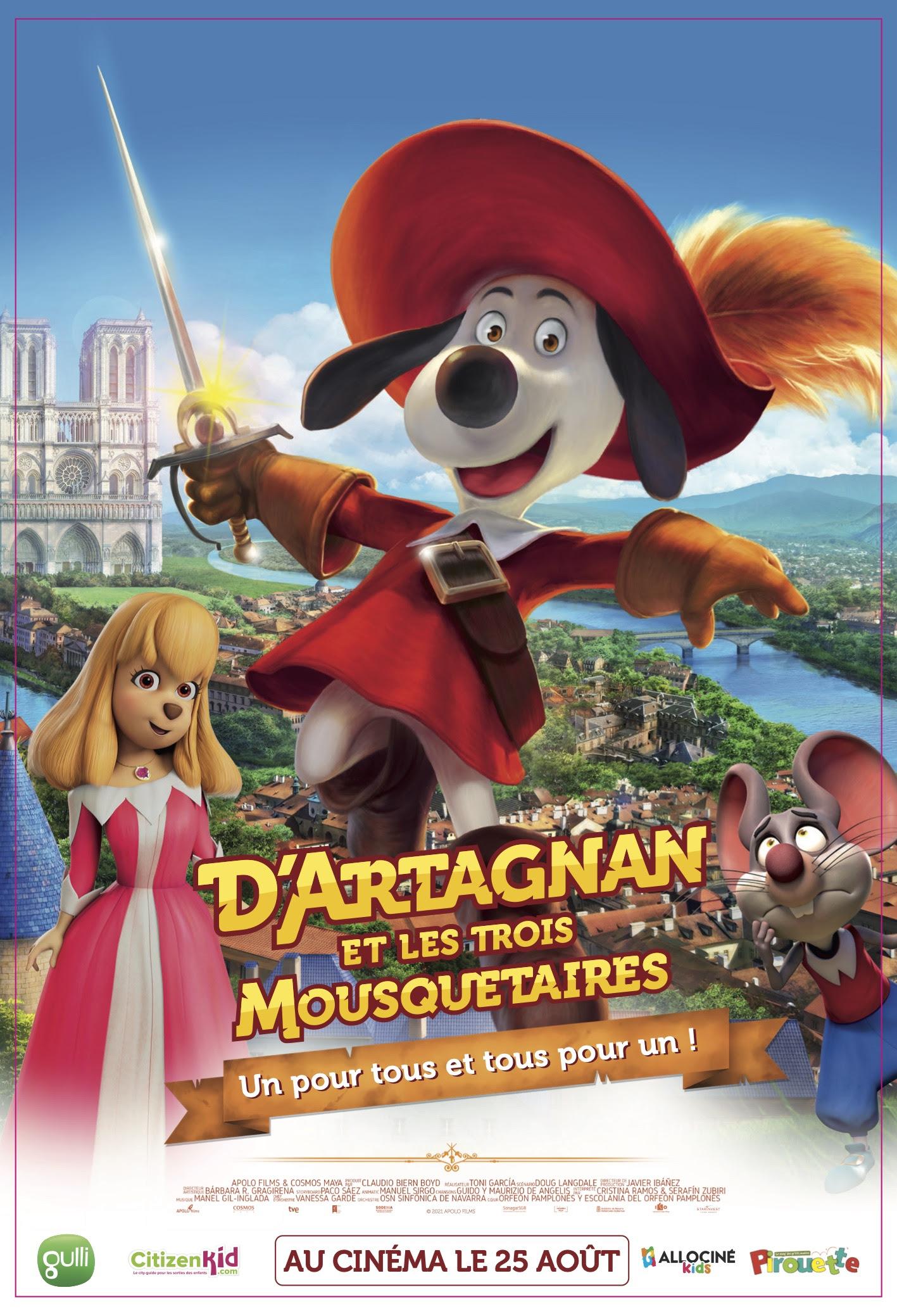 Read more about the article Kids Corner: D'Artagnan et Les Trois Mousquetaires